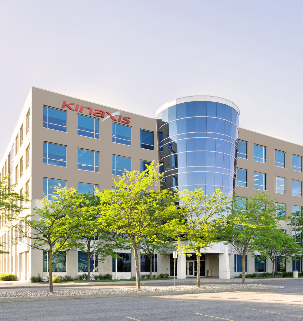 image of the Kinaxis headquarters building