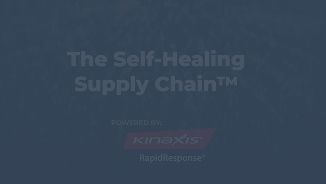 Self-Healing Supply Chain Video