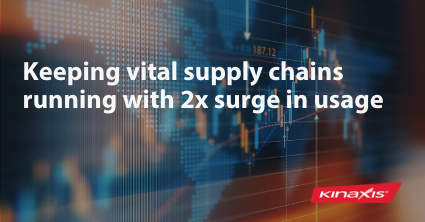 Keeping vital supply chains runing with 2x surge in Kinaxis usage