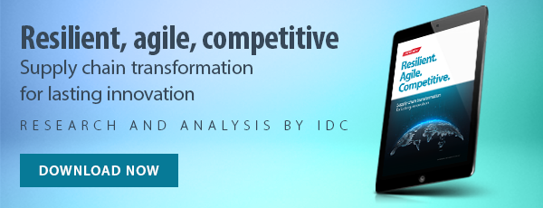 "Read our eBook ""Resilient, Agile, Competitive: Supply chain transformation for lasting innovation"""